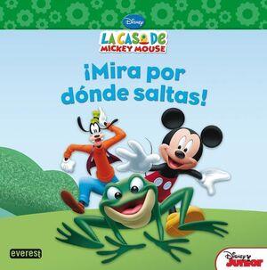 LA CASA DE MICKEY MOUSE. ¡MIRA POR DÓNDE SALTAS!