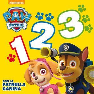 1, 2, 3 CON LA PATRULLA CANINA (PAW PATROL  PATRULLA CANINA. PEQUEÑAS MANITAS)