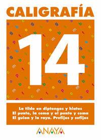 CALIGRAFÍA 14.