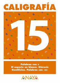 CALIGRAFÍA 15.