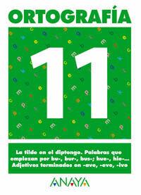 ORTOGRAFÍA 11.