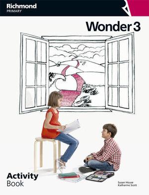 WONDER 3º PRIMARY. ACTIVITY BOOK. RICHMOND ´14