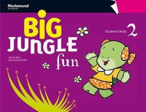 BIG JUNGLE FUN 2. STUDENT´S BOOK. RICHMOND ´12