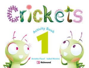 CRICKETS 1. ACTIVITY BOOK. RICHMOND ´16