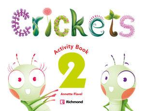 CRICKETS 2. ACTIVITY BOOK. RICHMOND ´16