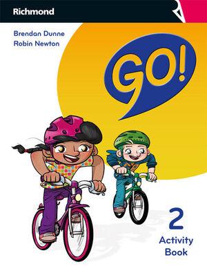 GO! 2º PRIMARY. ACTIVITY BOOK. RICHMOND ´18