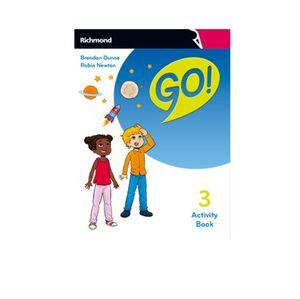 GO! 3º PRIMARY. ACTIVITY BOOK. RICHMOND ´18