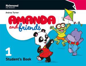 AMANDA & FRIENDS 1. STUDENT´S BOOK. RICHMOND ´18