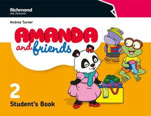 AMANDA & FRIENDS 2. STUDENT´S BOOK. RICHMOND ´18
