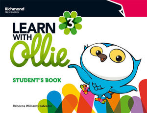 LEARN WITH OLLIE 3. STUDENT´S BOOK. RICHMOND ´16