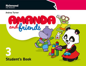 AMANDA & FRIENDS 3. STUDENT´S BOOK. RICHMOND ´18