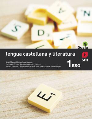 LENGUA CASTELLANA Y LITERATURA 1º ESO. SM ´15