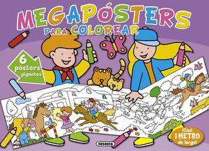 MEGAPÓSTERS PARA COLOREAR