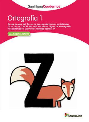 ORTOGRAFIA 1 SANTILLANA CUADERNOS