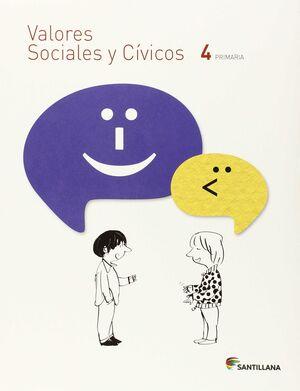 VALORES SOCIALES Y CIVICOS 4º PRIMARIA. SANTILLANA ´15