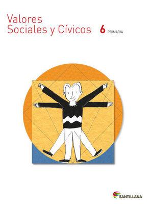 VALORES SOCIALES Y CIVICOS 6º PRIMARIA. SANTILLANA ´15