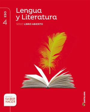 LENGUA Y LITERATURA 4º ESO. LIBRO ABIERTO. SANTILLANA ´16