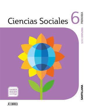 CIENCIAS SOCIALES 6º PRIMARIA. SANTILLANA ´19