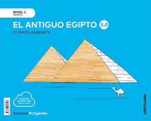 ¡CUANTO SABEMOS! 3.0 NIVEL 1. EL ANTIGUO EGIPTO. SANTILLANA ´20