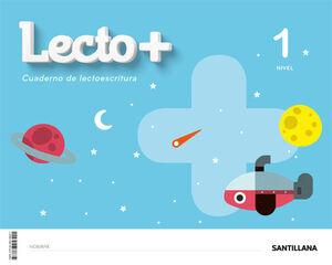 LECTO+. CUADERNO DE LECTOESCRITURA 1. SANTILLANA ´20