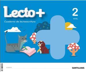 LECTO+. CUADERNO DE LECTOESCRITURA 2. SANTILLANA ´20