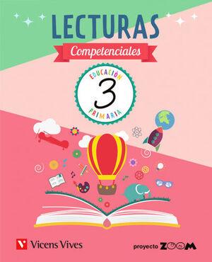 LECTURAS COMPETENCIALES 3º PRIMARIA. VICENS VIVES ´18