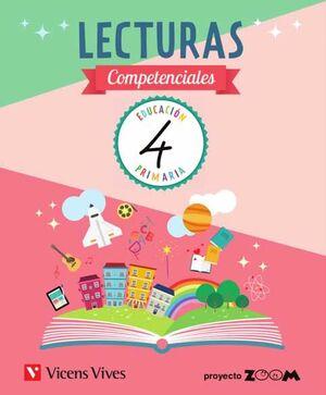 LECTURAS COMPETENCIALES 4º PRIMARIA. VICENS VIVES ´19