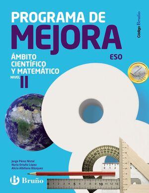 PROGRAMA DE MEJORA ESO. ÁMBITO CIENTÍFICO - MATEMÁTICO. NIVEL II. BRUÑO ´16