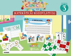MATEMÁTICAS PROYECTO CANICAS NIVEL 3. BRUÑO ´20