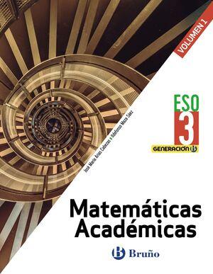MATEMÁTICAS 3º ESO. ACADÉMICAS. T. BRUÑO ´20