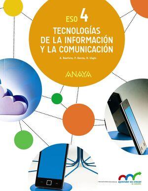 TECNOLOGÍAS DE LA INFORMACIÓN Y COMUNICACIÓN 4º ESO. ANAYA ´16