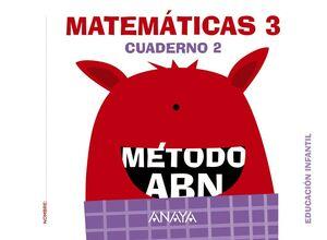 MATEMÁTICAS 3. MÉTODO ABN. CUADERNO 2. ANAYA ´16