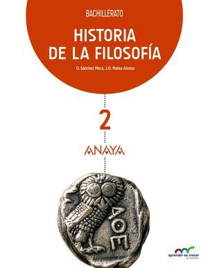 HISTORIA DE LA FILOSOFÍA 2º BACHILLERATO. ANAYA ´16