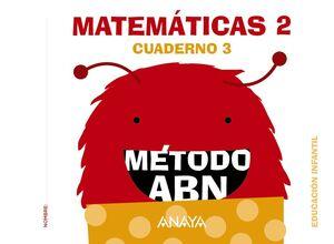 MATEMÁTICAS 2. MÉTODO ABN. CUADERNO 3. ANAYA ´16