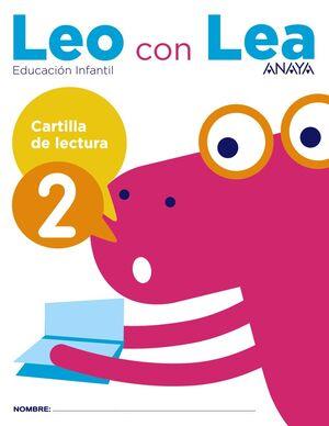 LEO CON LEA. CARTILLA DE LECTURA 2. ANAYA ´17