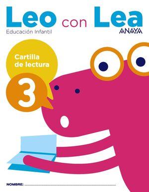 LEO CON LEA. CARTILLA DE LECTURA 3. ANAYA ´17