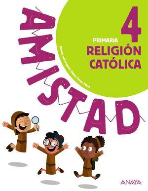 RELIGIÓN CATÓLICA 4º PRIMARIA. ANAYA ´19