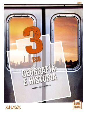 GEOGRAFÍA E HISTORIA 3º ESO. CEUTA. ANAYA ´20
