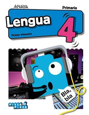 LENGUA 4º PRIMARIA + TALLER DE LECTURA. A. ANAYA ´19