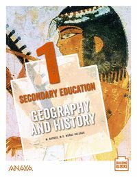 GEOGRAPHY AND HISTORY 1º ESO. STUDENT'S BOOK. ANAYA ´20