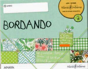 HILANDO PALABRAS 4. BORDANDO. ANAYA ´21