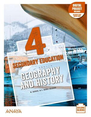 GEOGRAPHY AND HISTORY 4º ESO. STUDENT'S BOOK. ANAYA ´21