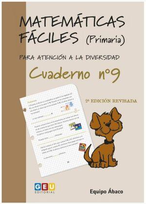 MATEMÁTICAS FÁCILES 9