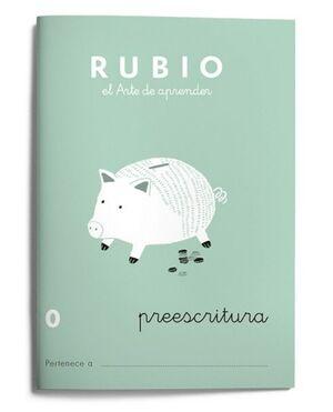 RUBIO ESCRITURA 0 (PREESCRITURA)