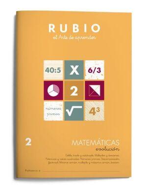 RUBIO MATEMÁTICAS EVOLUCIÓN 2