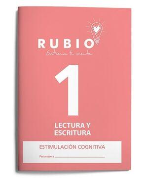RUBIO ESTIMULACIÓN COGNITIVA: LECTURA Y ESCRITURA 1