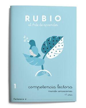 RUBIO COMPETENCIA LECTORA 1. MUNDO SENSACIONES