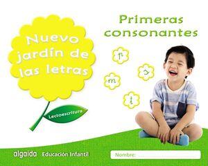 LECTOESCRITURA. PRIMERAS CONSONANTES. NUEVO JARDÍN DE LAS LETRAS ´17