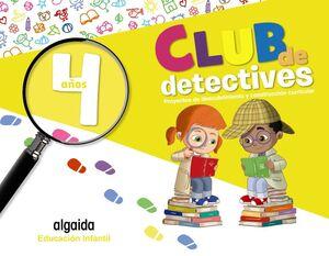 CLUB DE DETECTIVES 4 AÑOS. PROYECTOS. ALGAIDA ´20