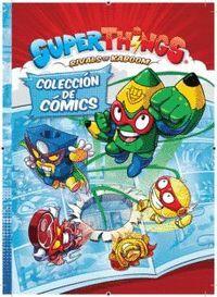 LIBRO DEL COLECCIONISTA DE COMICS SUPERTHINGS